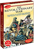 The Revolutionary War: Celebrate the Heroes and Heroines That Fought for Our Independence [With 28 Old-Time Patriotic Stickers and 11x17 Color-Your Ow