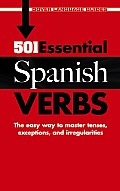 501 Essential Spanish Verbs (Dover Language Guides) Cover