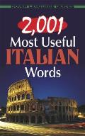 2,001 Most Useful Italian Words (Dover Language Guides)