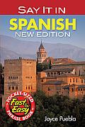 Say It in Spanish (Dover Easy Phrase Books)
