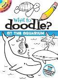 What to Doodle? at the Aquarium