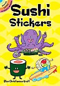 Sushi Stickers (Dover Little Activity Books)