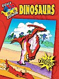 Dinosaurs 3D Coloring Book