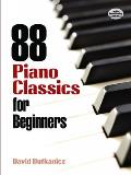 88 Piano Classics for Beginners (Piano Four Hands)