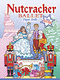 Nutcracker Ballet Paper Dolls with Glitter!
