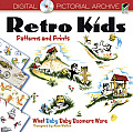 Retro Kids Patterns and Prints