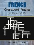 French Crossword Puzzles for Practice & Fun