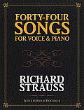 Forty Four Songs for Voice & Piano