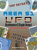 Area 51 UFO Maintenance and Repair Manual Activity Book (Dover Children's Activity Books)