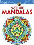 Nature Mandalas (Creative Haven Coloring Books)
