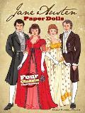 Jane Austen Paper Dolls Four Classic Characters