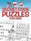 U.S.A. Secret Code Puzzles for Kids