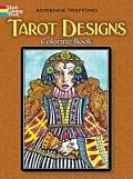 Tarot Designs Coloring Book