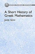 Short History Of Greek Mathematics