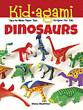 Kid Agami Dinosaurs Kiragami for Kids Easy To Make Paper Toys