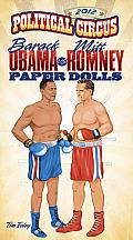 2012 Political Circus Paper Dolls Barack Obama vs the Republican Candidate Paper Dolls