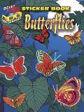 3 D Sticker Book Butterflies