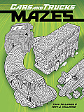 Cars and Trucks Mazes (Dover Coloring Books for Children)