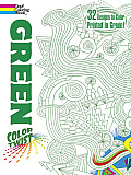 Colortwist -- Green Coloring Book