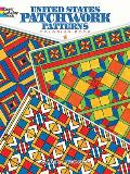 United States Patchwork Patterns Coloring Book (Dover Coloring Books)