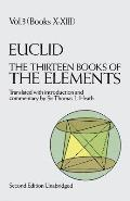 Thirteen Books of the Elements Volume 3 2ND Edition Cover