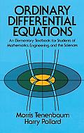 Ordinary Differential Equations An Elementary Textbook for Students of Mathematics Engineering & the Sciences