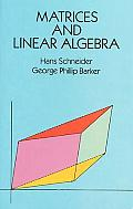 Matrices & Linear Algebra 2nd Edition