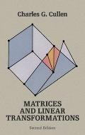 Matrices & Linear Transformations Second Edition
