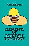 Elements of Point-Set Topology