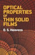 Optical Properties of Thin Solid Films