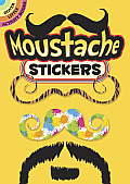Moustache Stickers