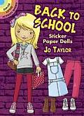 Back to School Sticker Paper Dolls (Dover Little Activity Books)