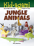 Kid agami Jungle Animals Kirigami for Kids Easy to Make Paper Toys