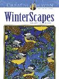 Creative Haven Winterscapes Coloring Book (Creative Haven Coloring Books)