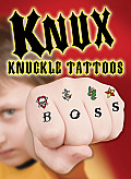 Knux -- Knuckle Tattoos for Boys (Dover Little Activity Books)