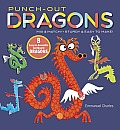 Punch-Out Dragons: Mix and Match! Sturdy and Easy to Make!