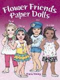 Flower Friends Paper Dolls (Dover Paper Dolls)