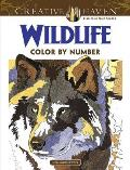 Creative Haven Wildlife Color by Number Coloring Book (Creative Haven Coloring Books)