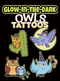 Glow-In-The-Dark Tattoos Owls (Dover Little Activity Books)