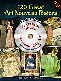 60 Great Art Nouveau Posters [With DVD]