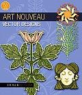 Art Nouveau Vector Designs [With CDROM]