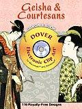 Geisha & Courtesans Cd Rom & Book