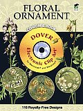 Floral Ornament Cd Rom & Book