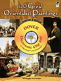 120 Great Orientalist Paintings [With CDROM] Cover