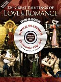 120 Great Paintings of Love & Romance [With CDROM] (Dover Electronic Clip Art) Cover