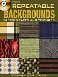Repeatable Backgrounds Fabric Weaves & Textures