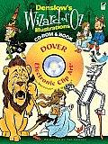 Denslows Wizard of Oz Illustrations CD ROM & Book