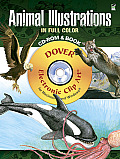 Animal Illustrations in Full Color CD-ROM and Book (Dover Electronic Clip Art)