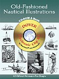 Old Fashioned Nautical Illustrations CD ROM & Book