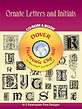 Ornate Letters and Initials CD-ROM and Book (Dover Pictorial Archives)